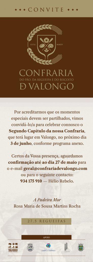 Convite CPRBValongo